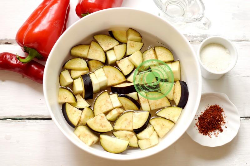 баклажаны в заливке на зиму рецепт с фото