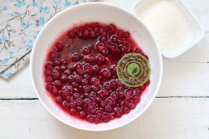 джем из красной смородины рецепт пошагово