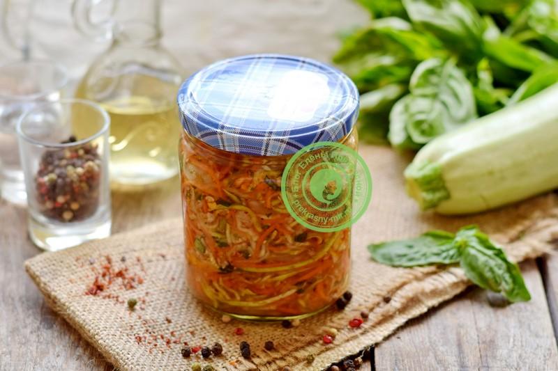 кабачки по-корейски на зиму рецепт в домашних условиях
