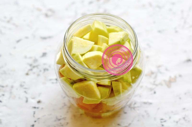 кабачки с алычой на зиму рецепт
