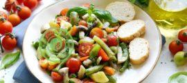 Кабачки со спаржевой фасолью: фото рецепт в домашних условиях