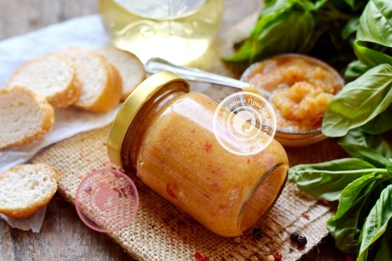 аджика из кабачков и яблок на зиму рецепт в домашних условиях