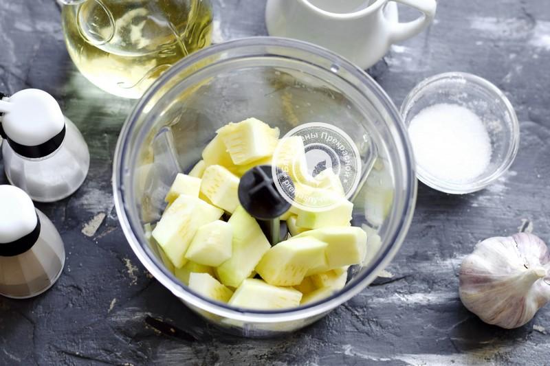 кабачковая икра с яблоками рецепт