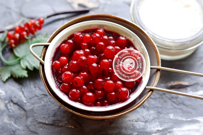 варенье из кабачков с красной смородиной рецепт с фото