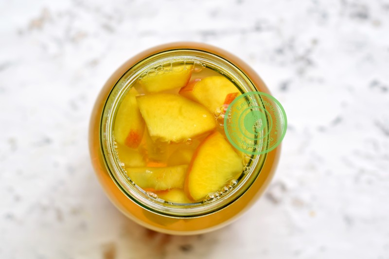 компот из абрикосов и персиков на зиму рецепт в домашних условиях