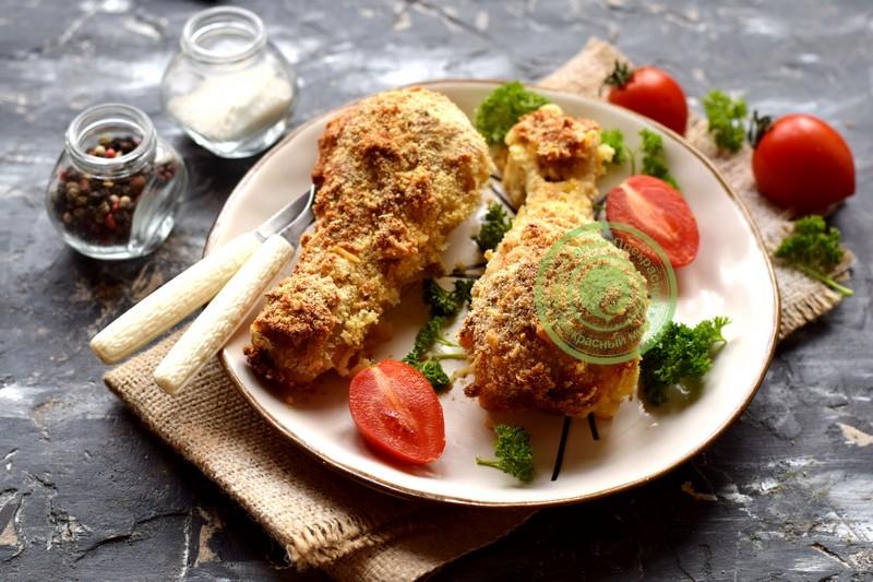 куриные голени под сырной корочкой рецепт в домашних условиях
