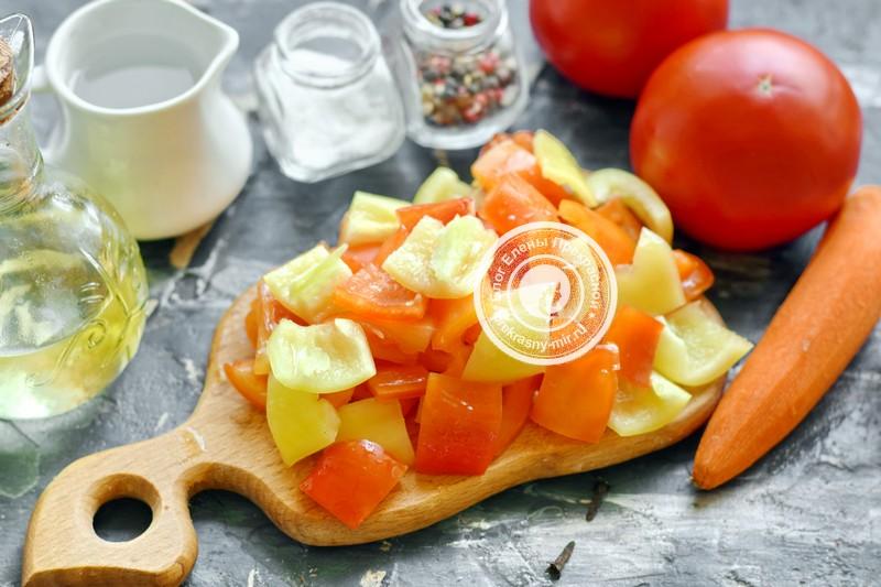 лечо с перцем и морковью на зиму
