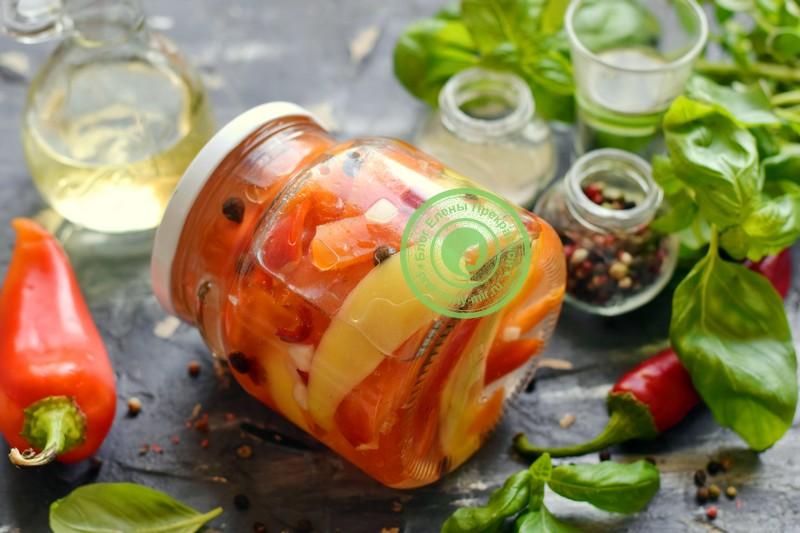 Перец маринованный в масле на зиму: рецепт в домашних условиях