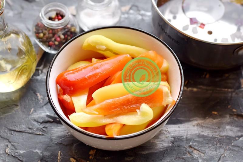 перец маринованный в масле рецепт в домашних условиях