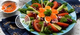 салат с перепелиными яйцами рецепт в домашних условиях