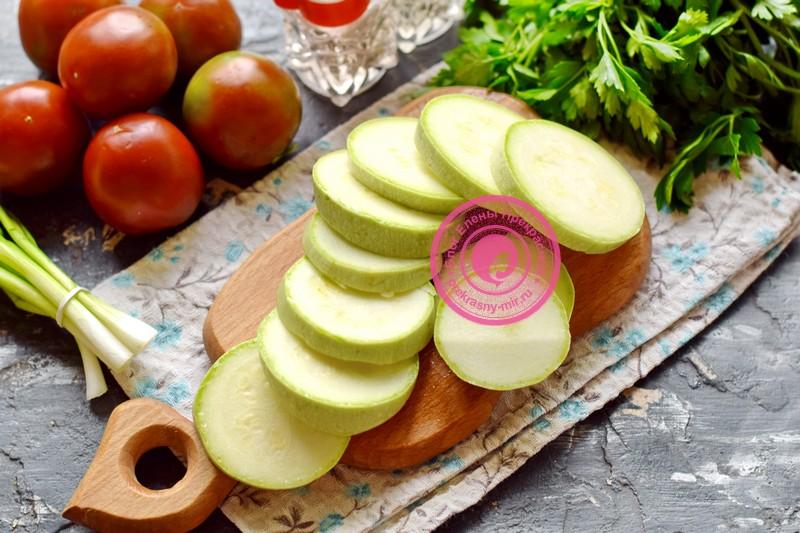салат с жаренными кабачками рецепт