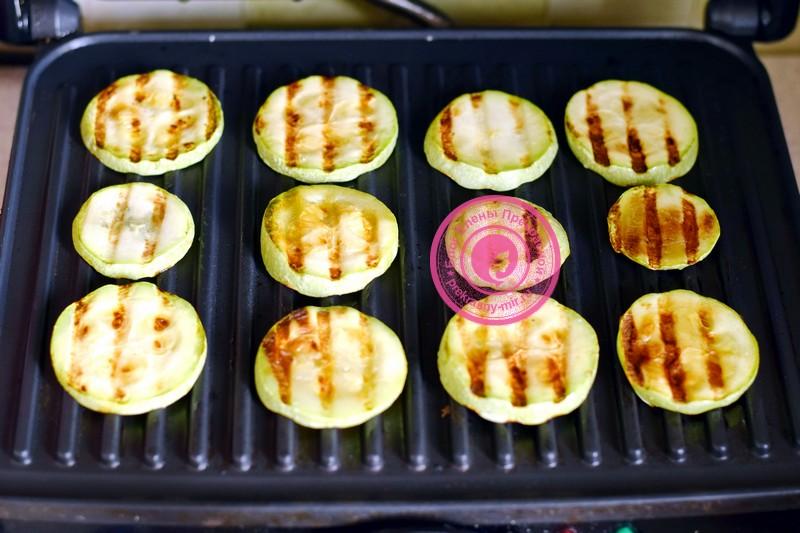 салат с жаренными кабачками рецепт с фото