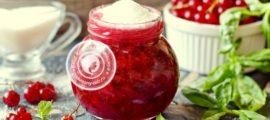 сырое варенье из красной смородины рецепт в домашних условиях