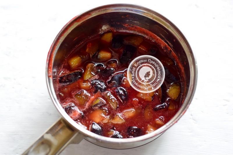 варенье из сливы кусочками на зиму рецепт в домашних условиях