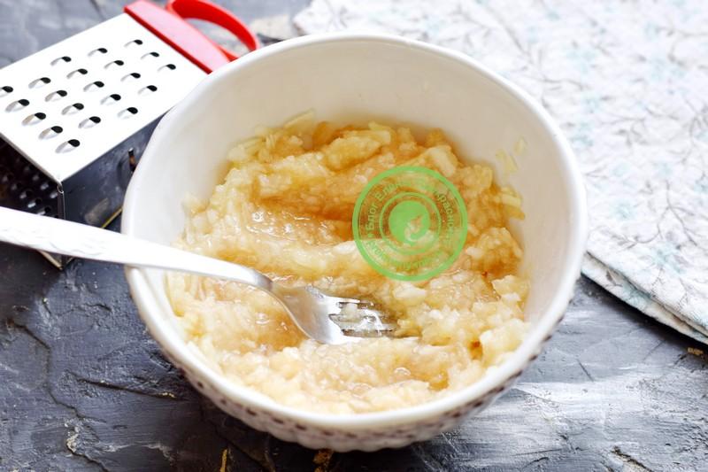 тертые яблоки с сахаром на зиму рецепт пошагово