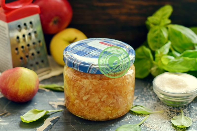 тертые яблоки с сахаром на зиму рецепт в домашних условиях