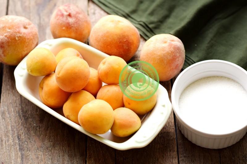 Варенье с абрикосами и персиками на зиму с целыми дольками