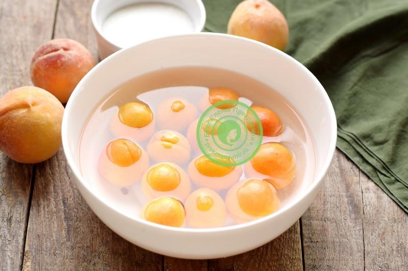 Варенье с абрикосами и персиками на зиму с целыми дольками рецепт