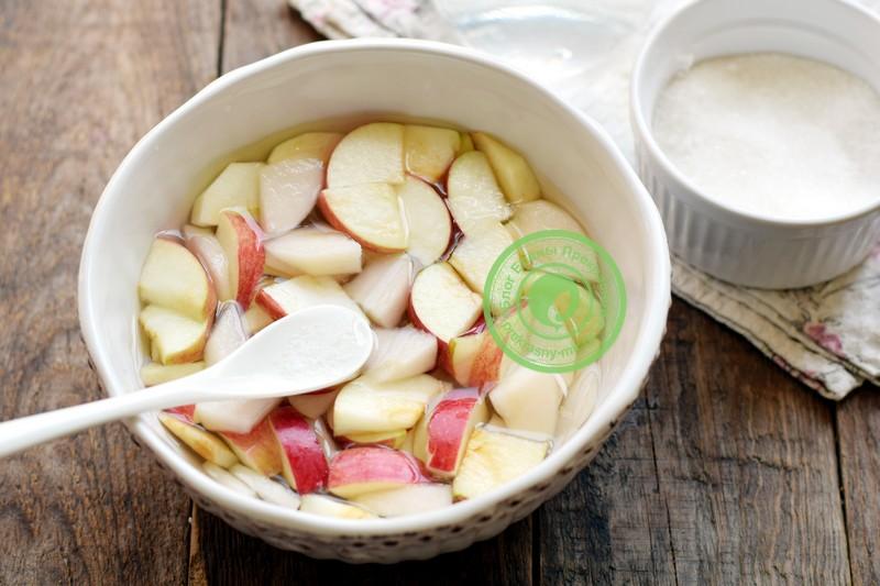 Яблоки в собственном соку на зиму рецепт