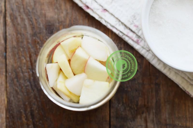 Яблоки в собственном соку на зиму рецепт с фото
