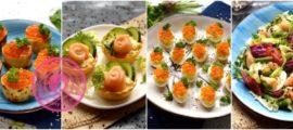 Рецепты с красной рыбой и икрой