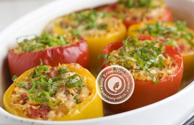 Фаршированный перец: классический рецепт