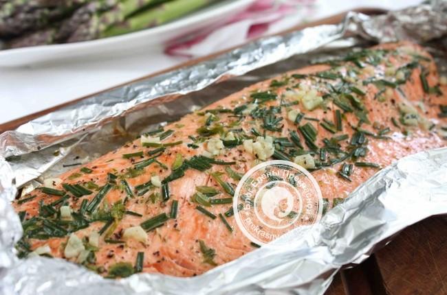 Рыба в фольге в духовке: рецепт