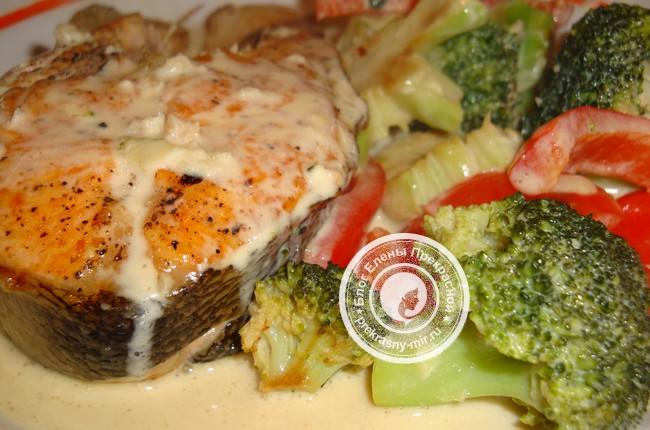 Рецепт рыбы с овощами