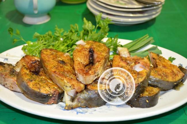 Рыба на мангале: рецепт