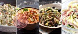 Салаты с колбасой: рецепты на праздничный стол