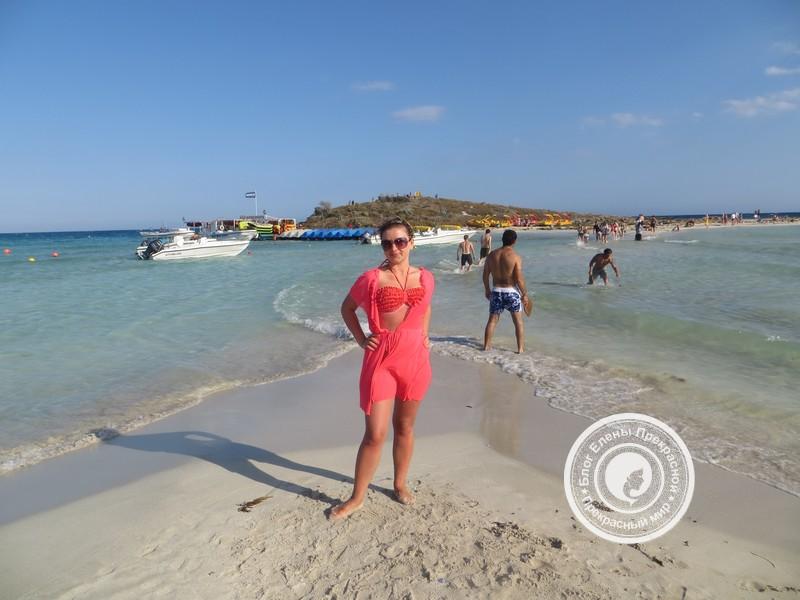 С пляжа по косе на островок Нисси Бич