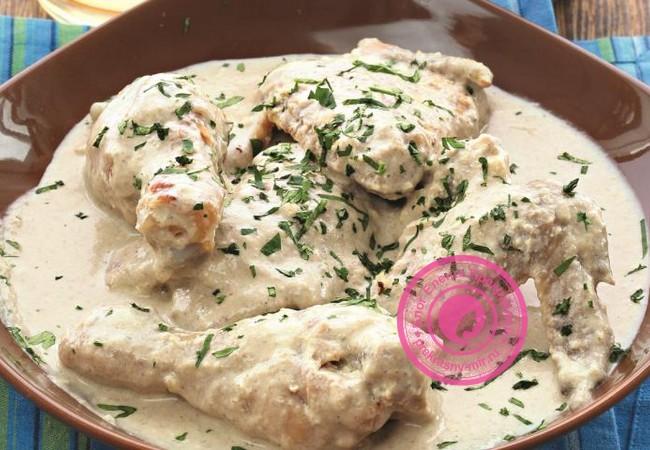 Курятина со сливочным соусом
