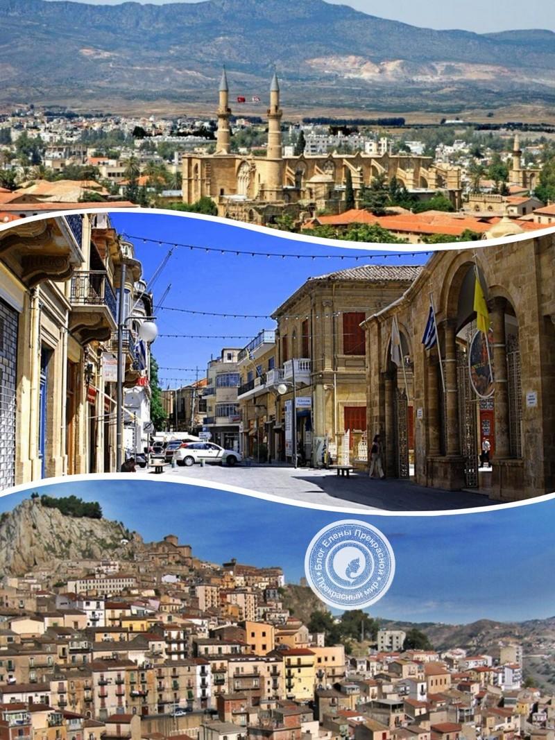 Никосия - столица греческой и турецкой части Кипра
