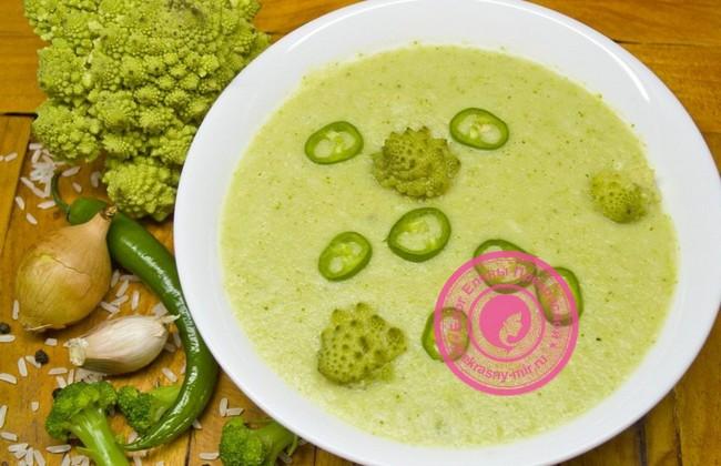 Постный суп с брокколи: рецепт