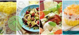 Салат с сыром: фото и видео рецепты на праздничный стол