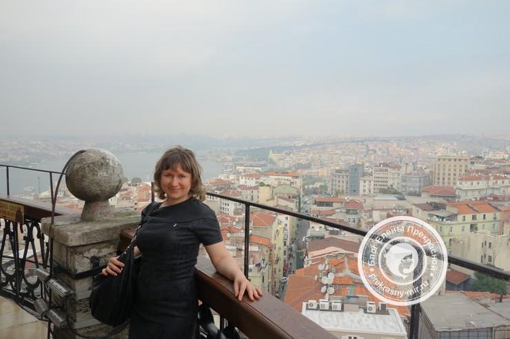 Вид на пролив Босфор с Галатской башни