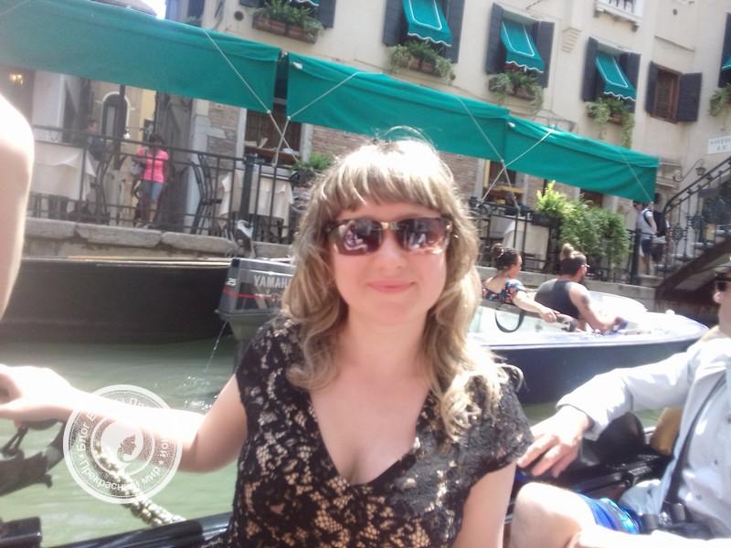 Катание на гондоле по Венеции