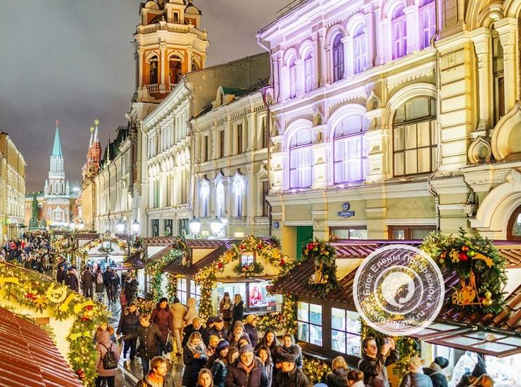 Новогодние ярмарки в Москве