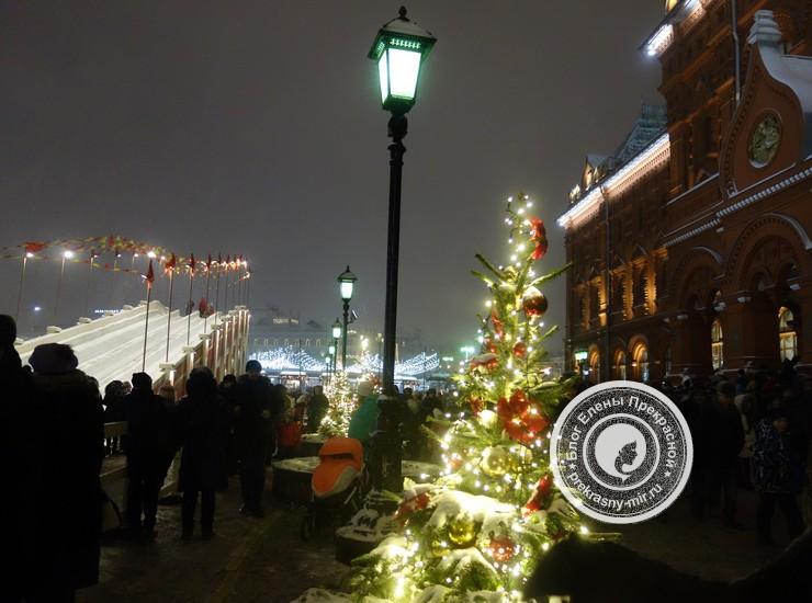 Снежные горки с Москве