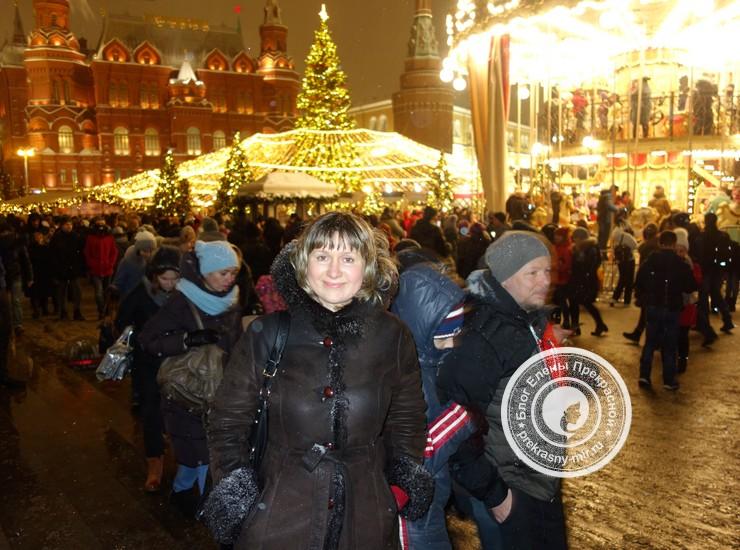 Новогодняя елка на Манежной