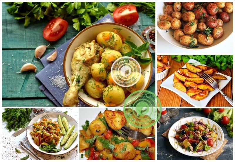 Как приготовить картошку: рецепты в домашних условиях