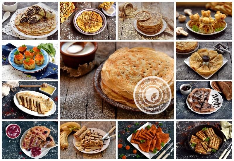 Как приготовить блины на Масленицу: рецепты с фото