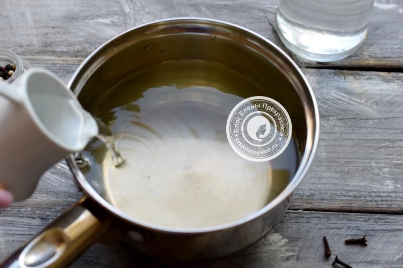 маринованные сливы на зиму рецепт