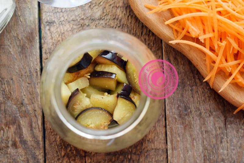 маринованные баклажаны с морковью на зиму рецепт в домашних условиях