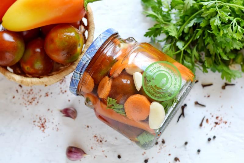 помидоры по-грузински на зиму рецепт в домашних условиях