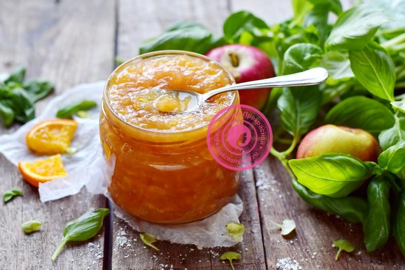 яблочно-апельсиновое варенье рецепт в домашних условиях