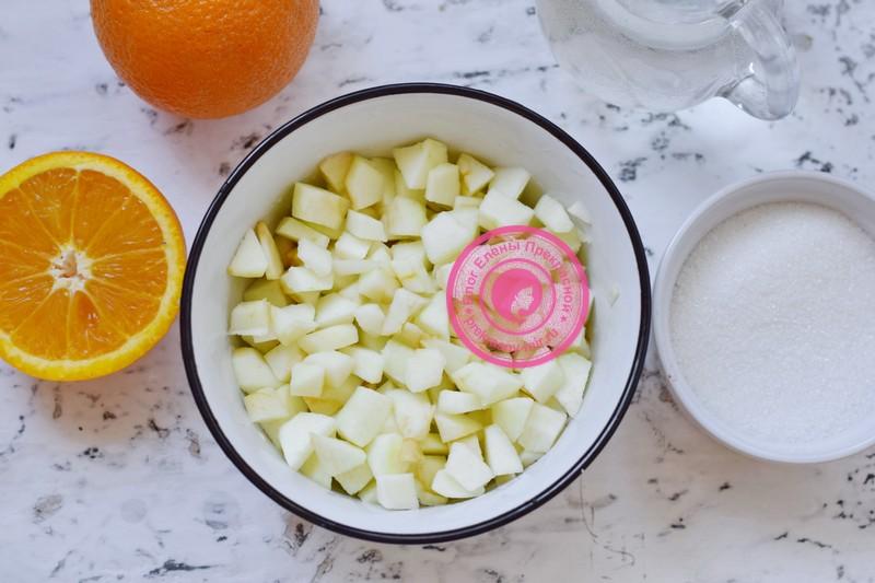 Яблочно-апельсиновое варенье рецепт