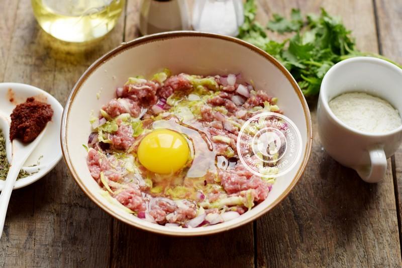 Мясные котлеты с кабачками рецепт