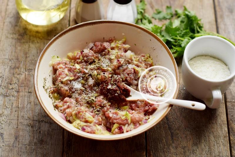 Мясные котлеты с кабачками рецепт приготовления