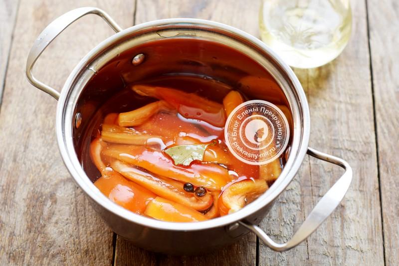 перец с медом на зиму рецепт пошагово